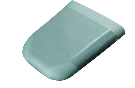 Toe Board Cover Clear Vinyl