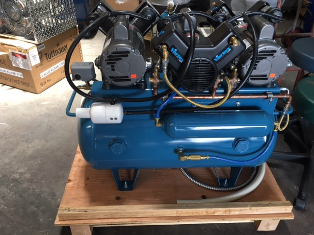Tech West Ultra Clean Oil-less Compressor ACO6T2 (6 users)