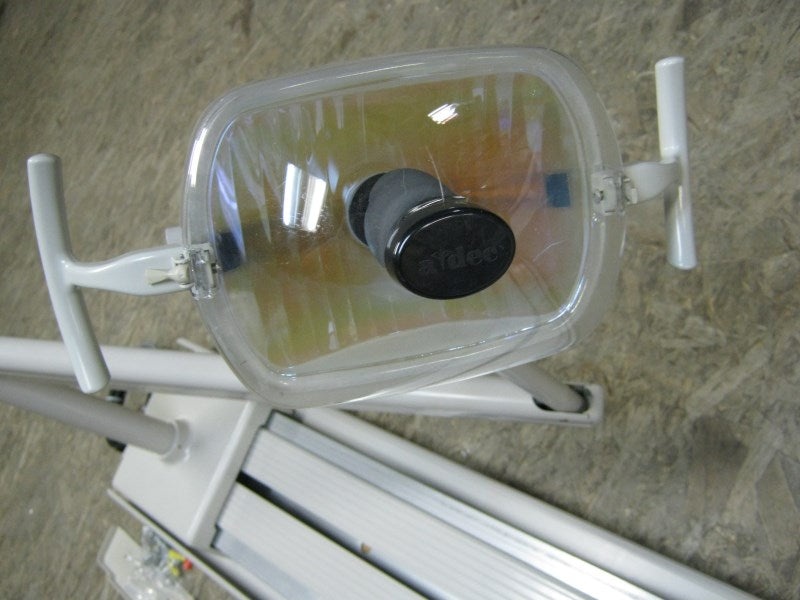 Adec 6300 Track Mount Dental Light