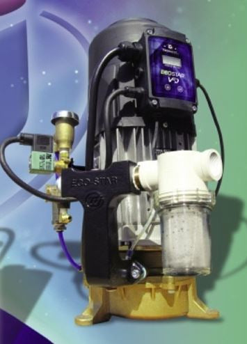 Tech West Eco-Star Liquid Ring Vacuum Pump (3 user, 1hp) ESL2S