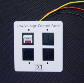 Low Voltage Control Panel Single Switch DCI 2900