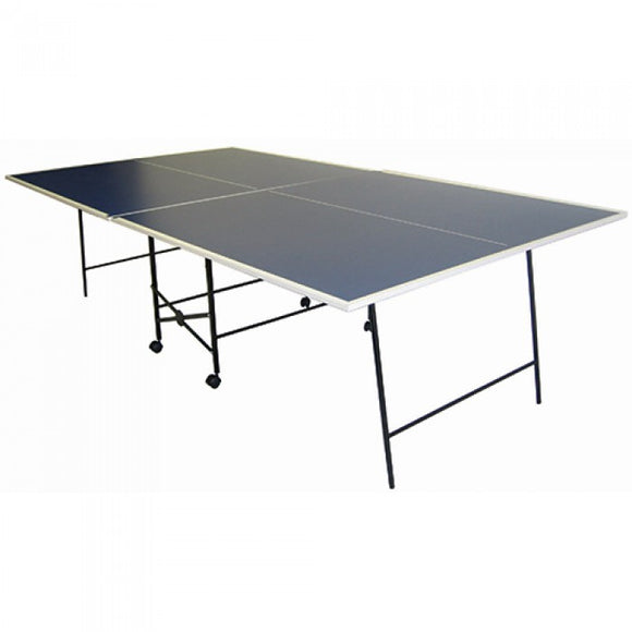 Deluxe Table Tennis Table + 4 Bats, Balls, Net & Uprights