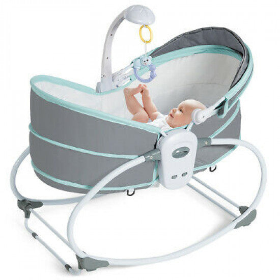 Bassinet rocker 5 in 1
