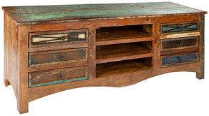 JINJA - reclaimed wood TV cabinet