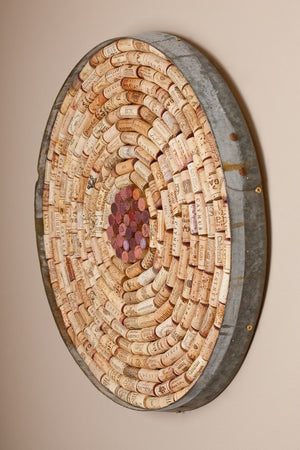 CORKED BULLETIN BOARD - ROUND