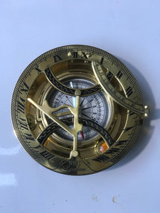 Adventurer's Fully Functional Sundial And Compass