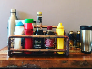 Copper Pipe Industrial design condiment caddy