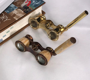 Vintage style binoculars with Handle