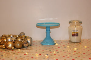 Vintage style cake stand - ORIGINAL MOSSER GLASS  (6 inch)