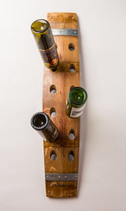 BANDED WALL WINE RACK