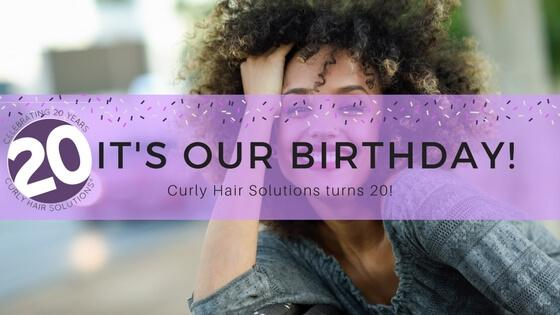 20 years of loving your curls!