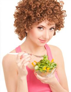 Healthy Food for Healthy Curls