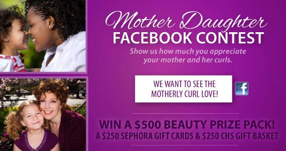 Mother Daughter Facebook Contest