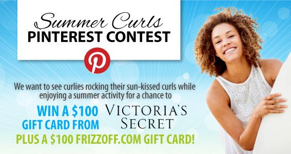 Summer Curls Pinterest Contest