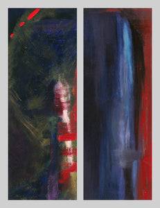 Abstract Duet (Diptych)