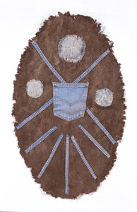 Shield Denim on Bark Paper