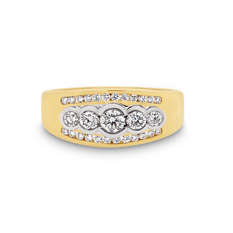 Bezel set Diamond Dress Ring