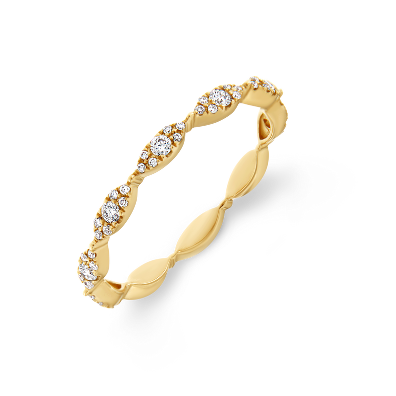 Marquise Shaped Wedding Ring