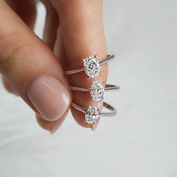 'Olivia' Collection in White Gold