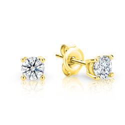 Australian Argyle Diamond Stud Earrings