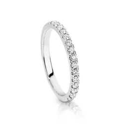 Australian Argyle Diamond Wedding Ring