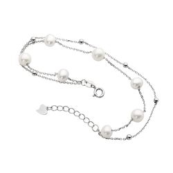 Fresh Water Pearl bracelet with extender