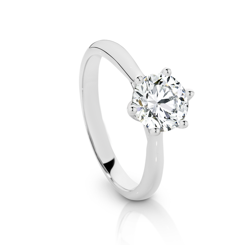 'Chloe' Collection In White Gold