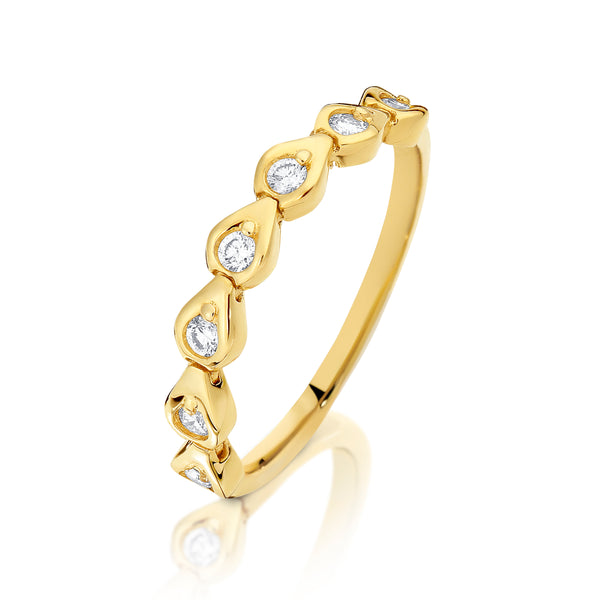 Dreamtime Diamond Multi Pod Ring
