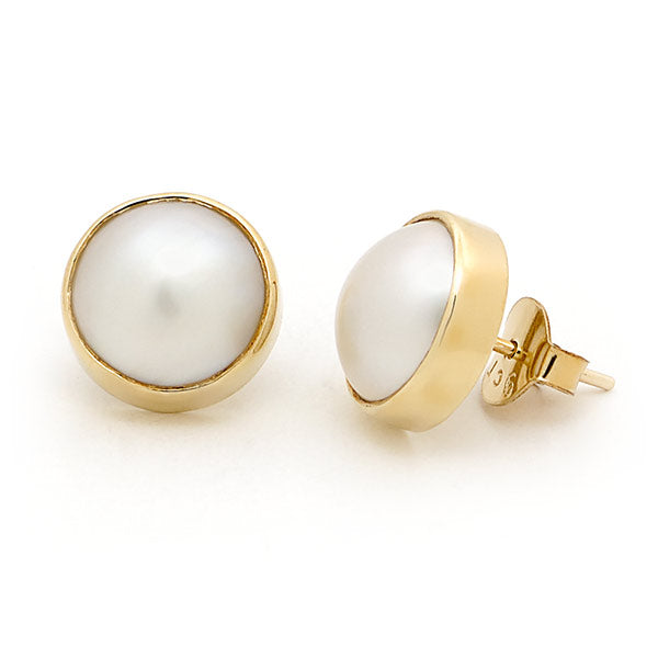 Mabe Pear Stud Earrings
