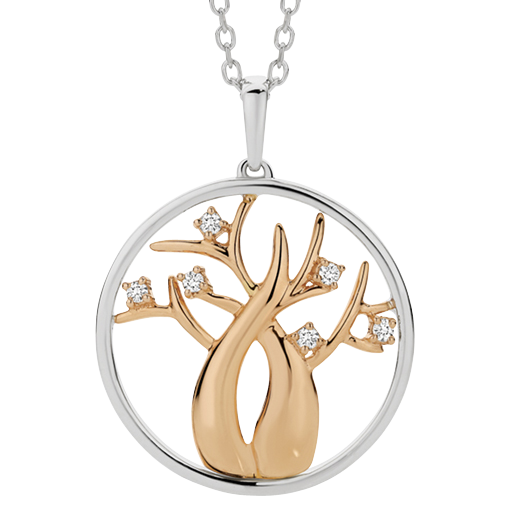 Dreamtime Boab Tree of Life Pendant