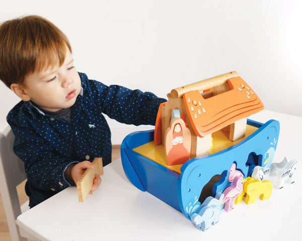 noahs shape sorter toy