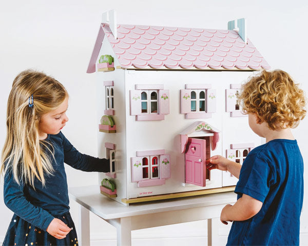 sophies wooden dolls house