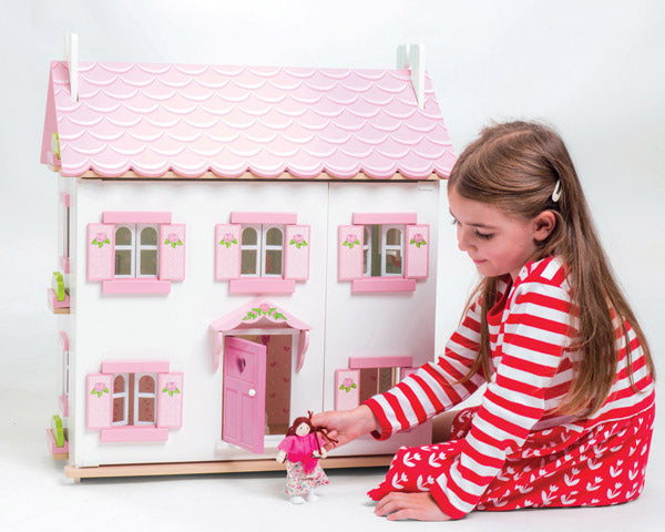 sophie's wooden dolls house