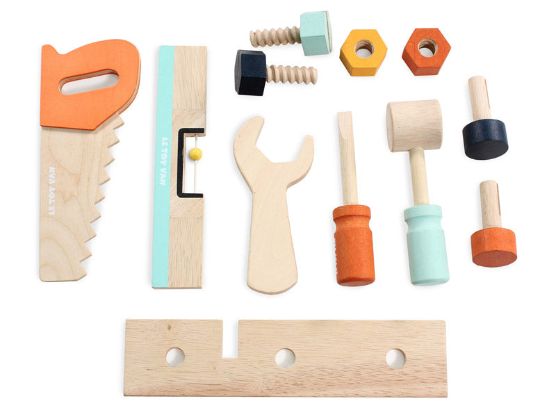 what are wooden toys made from
