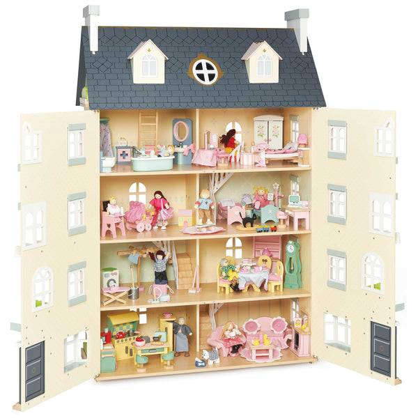 Palace Wooden Doll House Toy Dolls Houses Le Toy Van