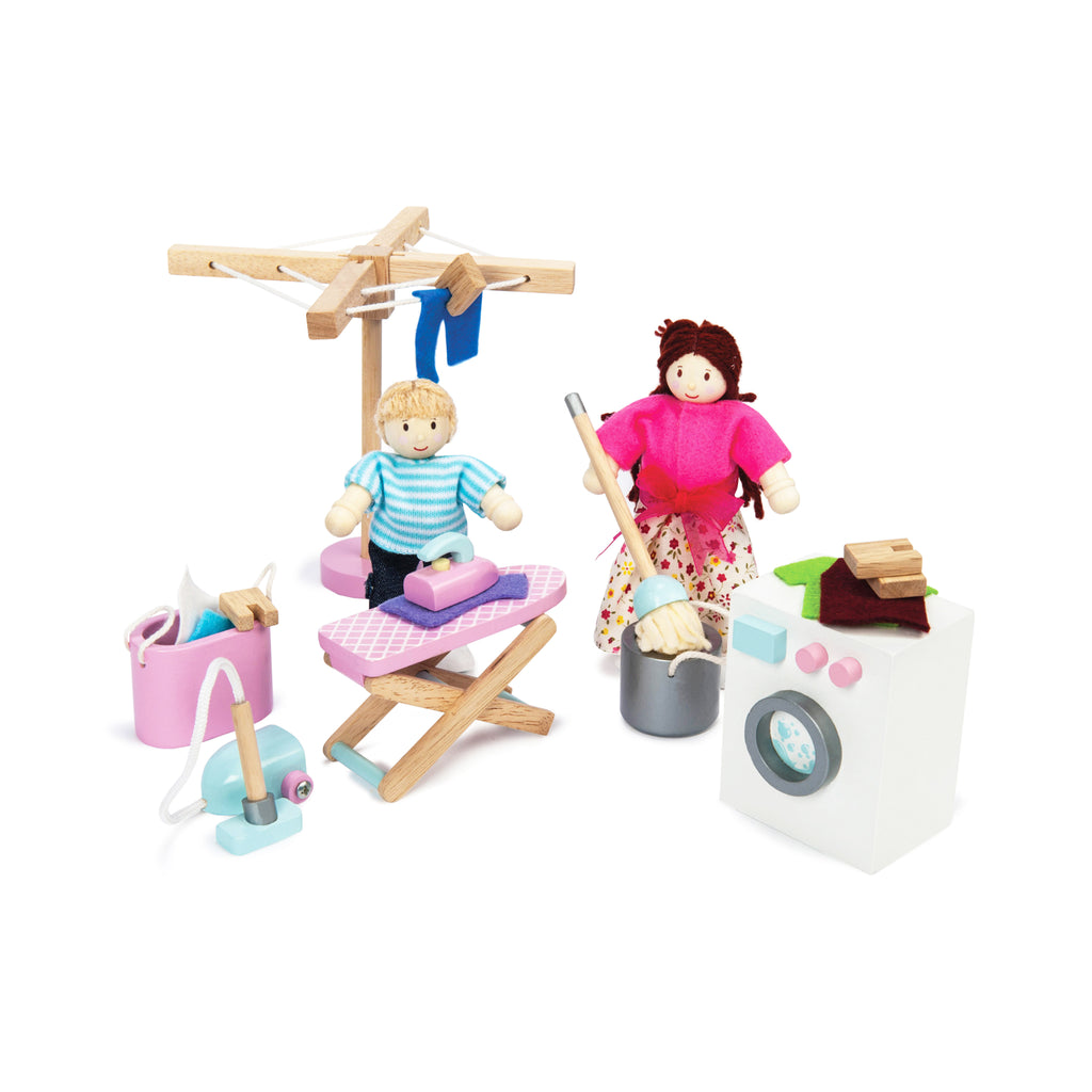 Doll House Laundry Room, Toy - Le Toy Van