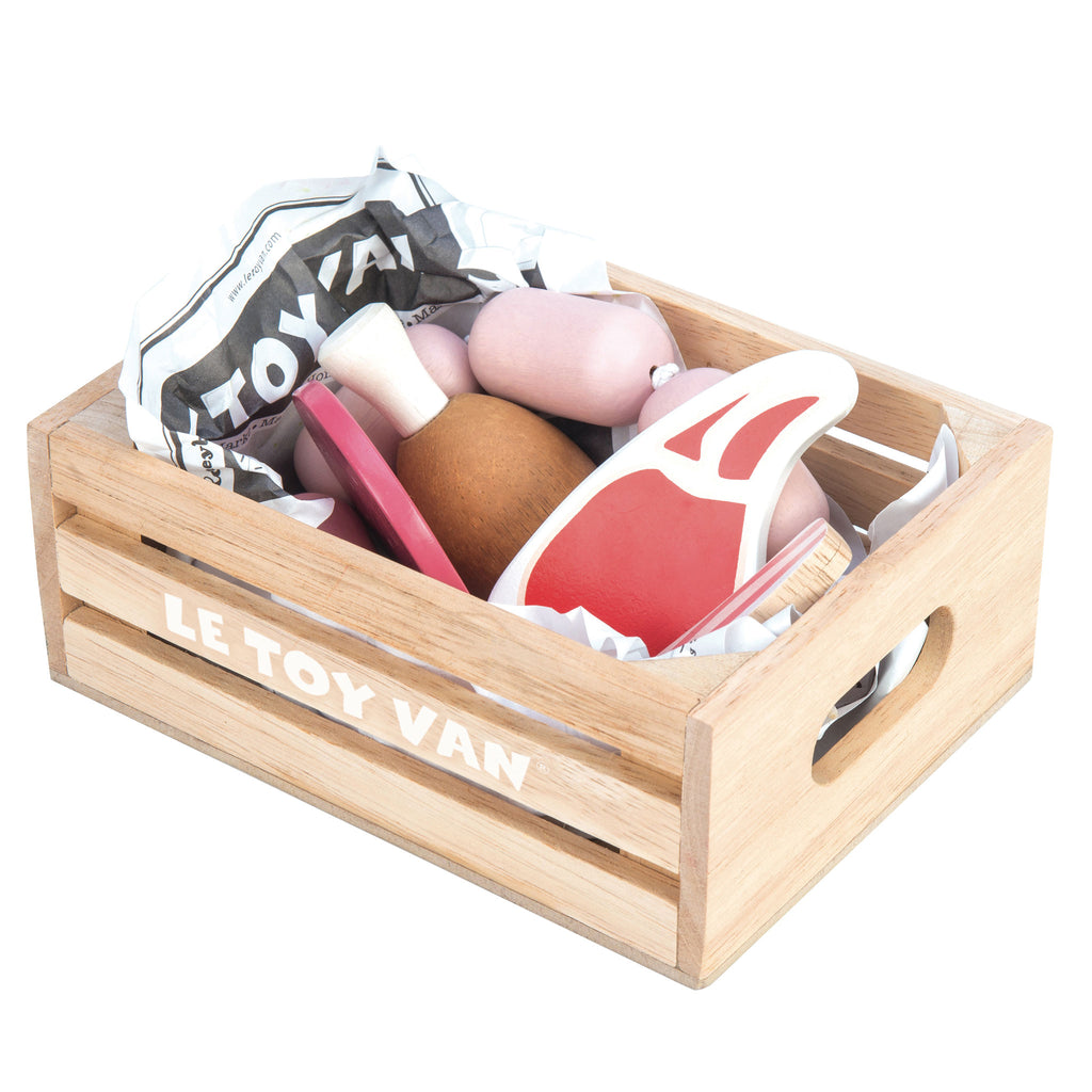 Market Meat Crate,  - Le Toy Van