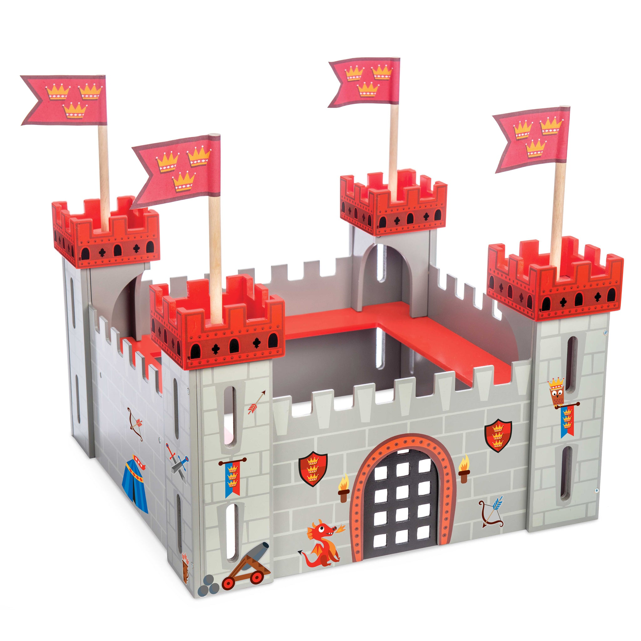 My First Castle Castles Knights Historical Wooden Toys Le Toy Van