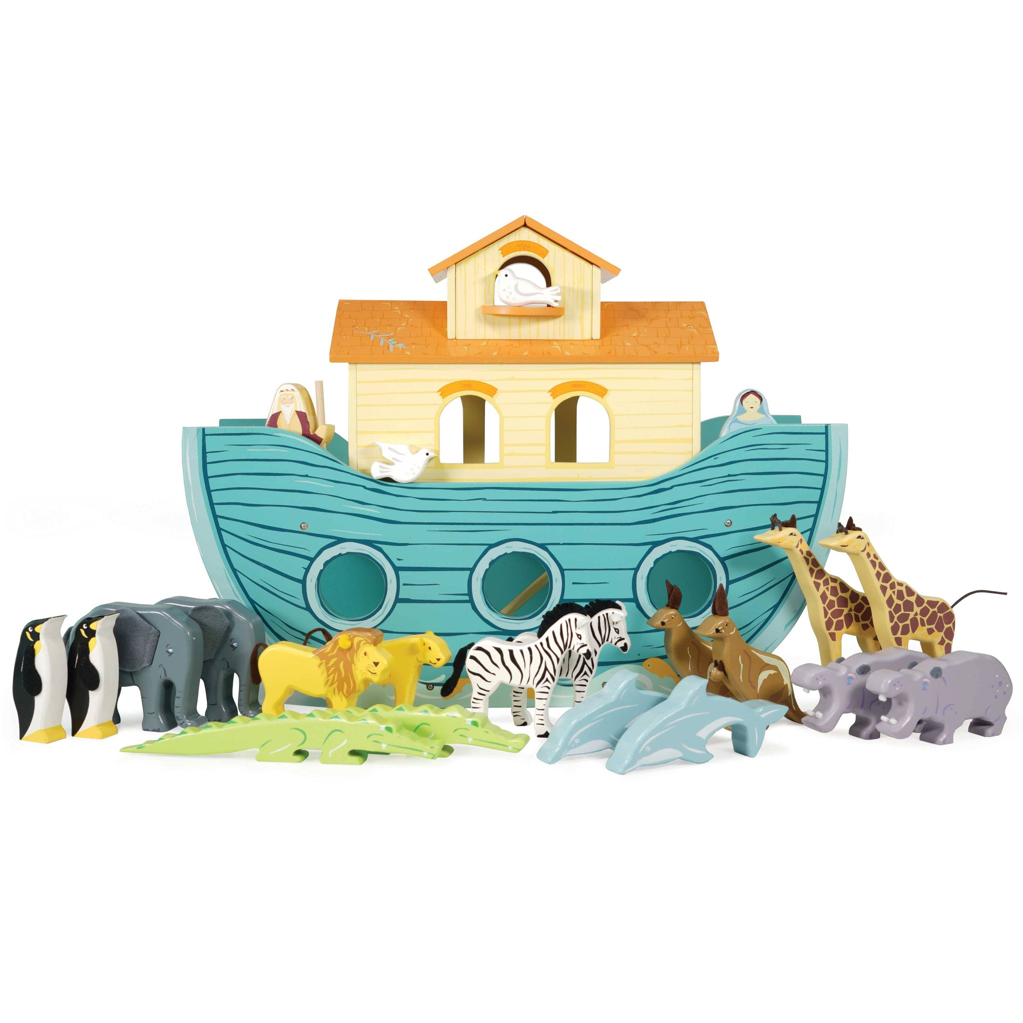 The Great Ark Wooden Boats Arks For Children Le Toy Van
