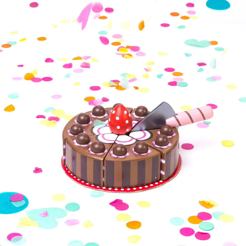 Chocolate Gateau Cake,  - Le Toy Van