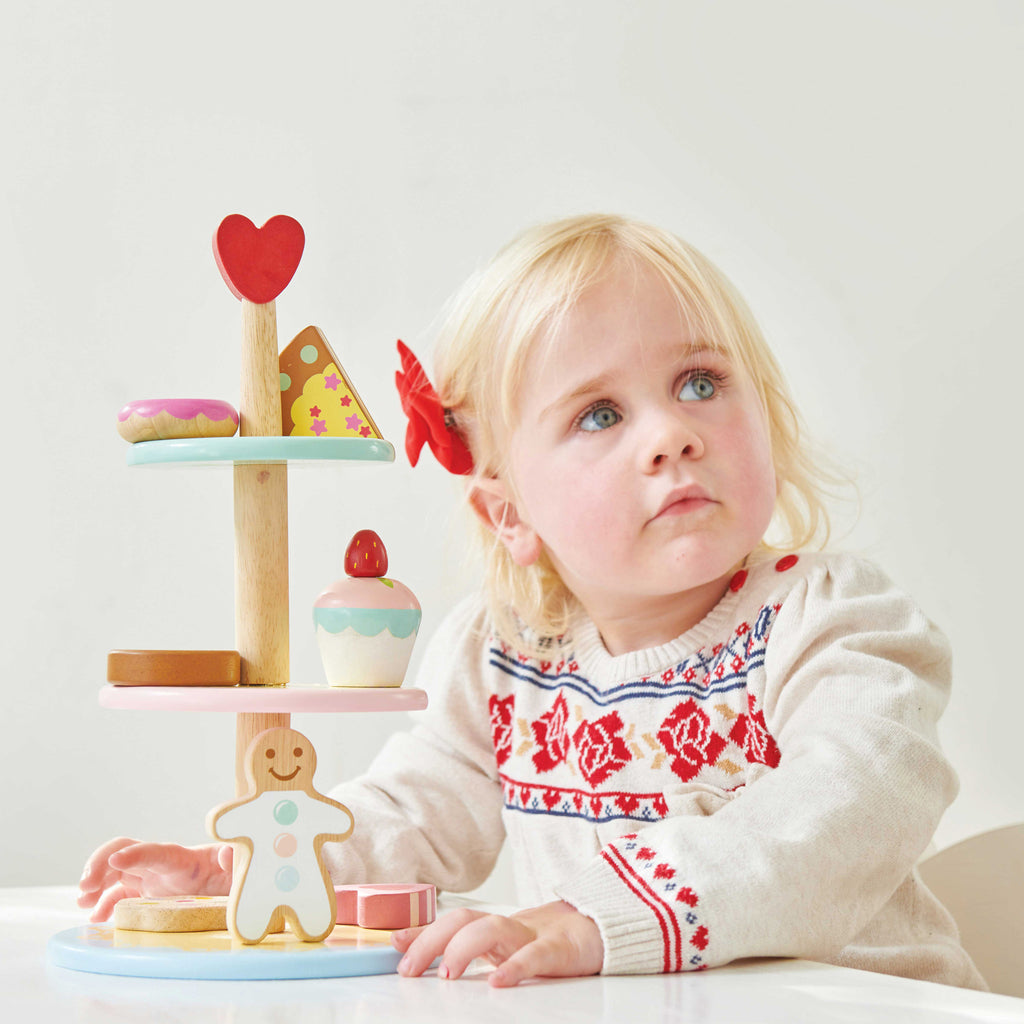 Three Tier Cake Stand,  - Le Toy Van