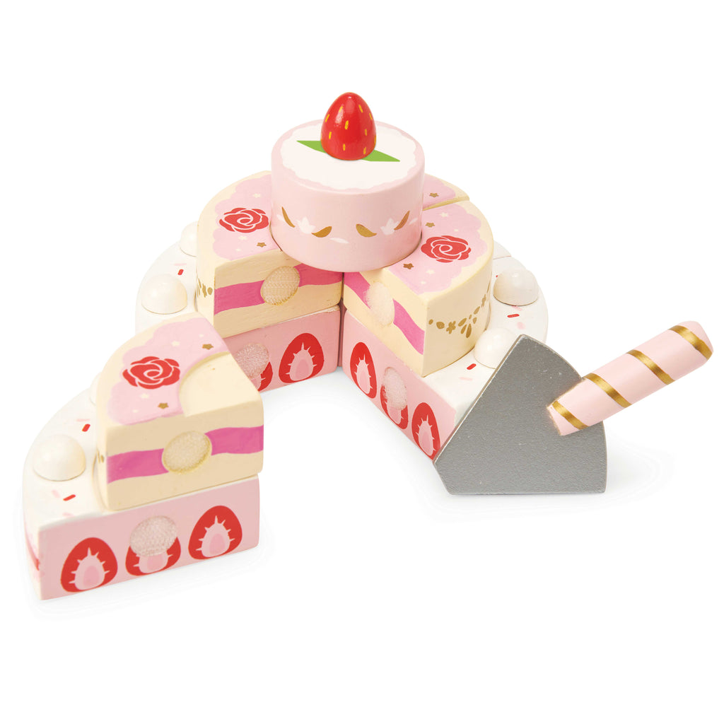 Strawberry Wedding Cake, Toy - Le Toy Van