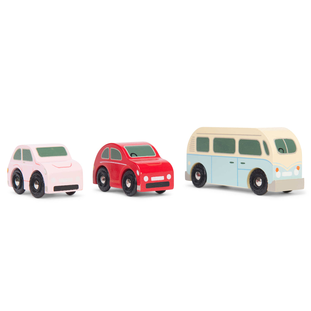 Retro Metro Car Set,  - Le Toy Van