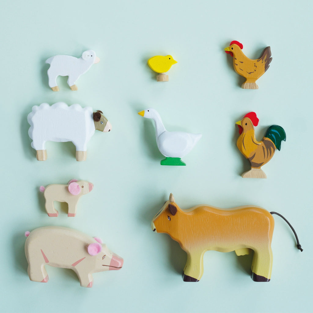 Sunny Farm Animals,  - Le Toy Van