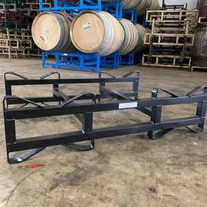 "On Sale 3 in Refurbished single Bar ""Very Nice"" 53/60g 2 Barrel Black Rack"
