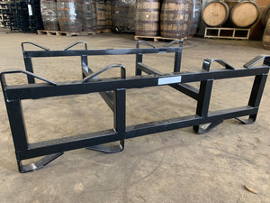 "7-Inch 1-Bar Refurbished ""Like New"" 2 Barrel Rack for 53/60g barrels"