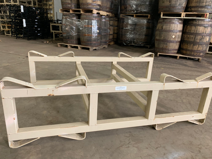 Western Square 9 Inch used 2 Bar 500 Liter Puncheon 2 Barrel Rack
