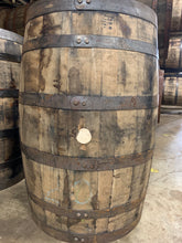 Load image into Gallery viewer, 53g Heaven Hill, Wild Turkey, Old Fitzgerald, Jack Daniels & Wyoming Whiskey (display quality, ex beer barrels) . Logo heads.