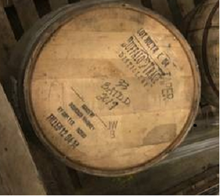 Load image into Gallery viewer, Buffalo Trace Premium Display 53g Barrels with nice stamped barrel heads(ex beer barrels)