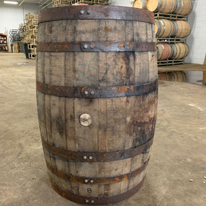 Sale 53g 1/2 Whiskey Barrel Planter. Perfect for flowers, herbs, annuals & perennials